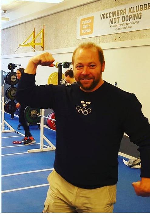 Rickard Nilsson , alla våran favorit ! Han är källa våran explosivitet och styrka. Foto Anna Laurell Nash