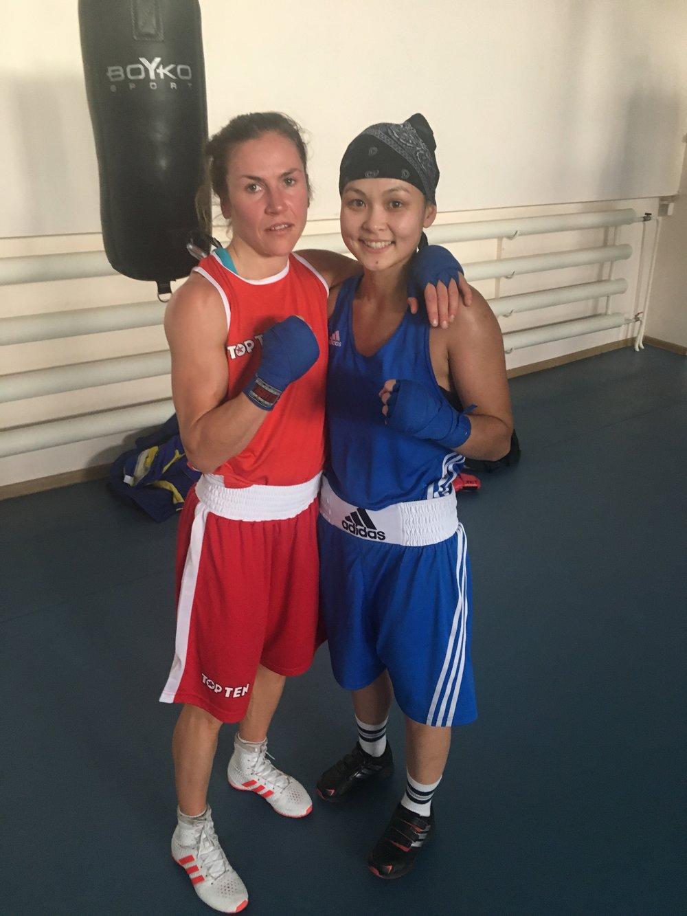 Alina turlubayeva ,48 kg. Rapp snabb och skicklig boxare , tack för bra motstånd.