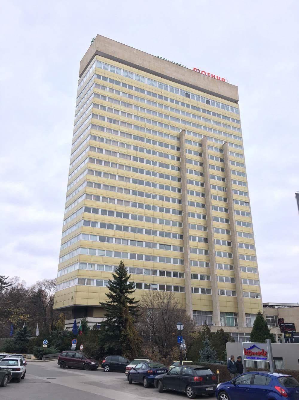 Hotellet , typisk öststat-feeling.