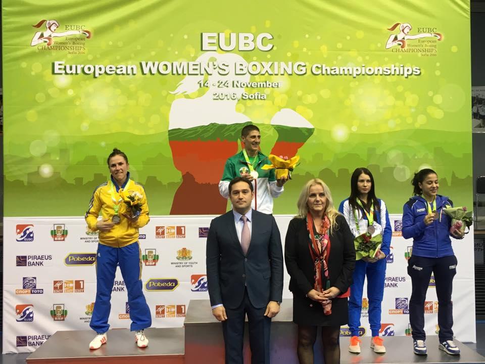 Pallplats och silvermedalj på Lises första EM