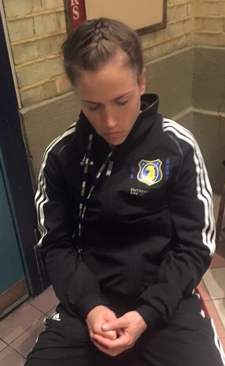 Lise har samma fokus och målmedvetenhet i hennes mentala träning som hon har sitt fysisk träning.
