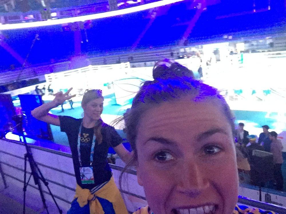 Anna Laurel Nash och jag i VM Kazastan 2016. Anna du är grym <3