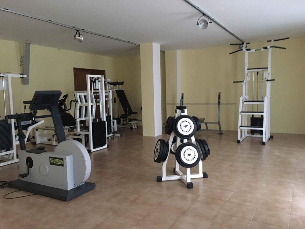 Lokala gym var det viktiga förträning innan matcherna och mellan dagarna kan göras för att hålla nervbanorna alerta.