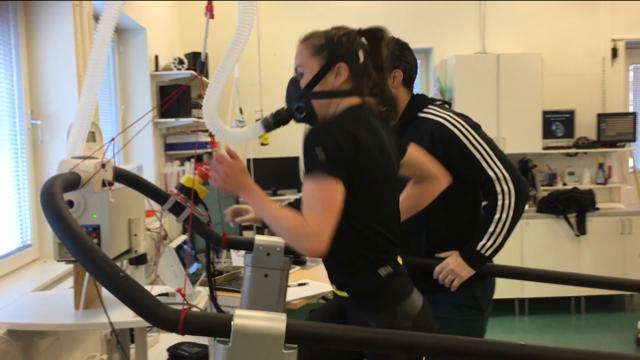 Vi gör V02 test par gånger i året , ofta i Bosön Riksidrotts förbundets test laboratorium.
