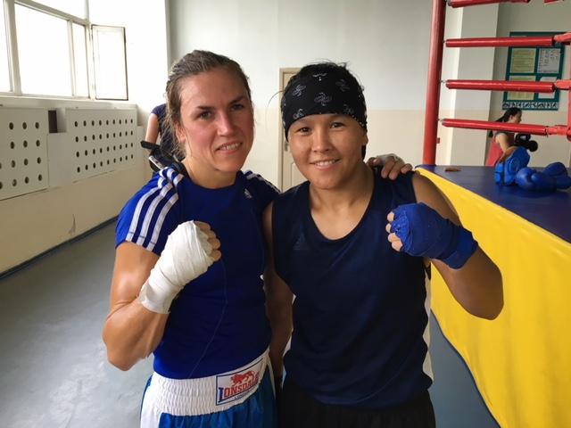 Lise och Zhaina.
