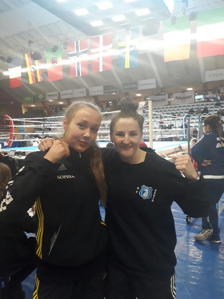 Vänster ; Sophia Smith och Höger ; Mia Bromander