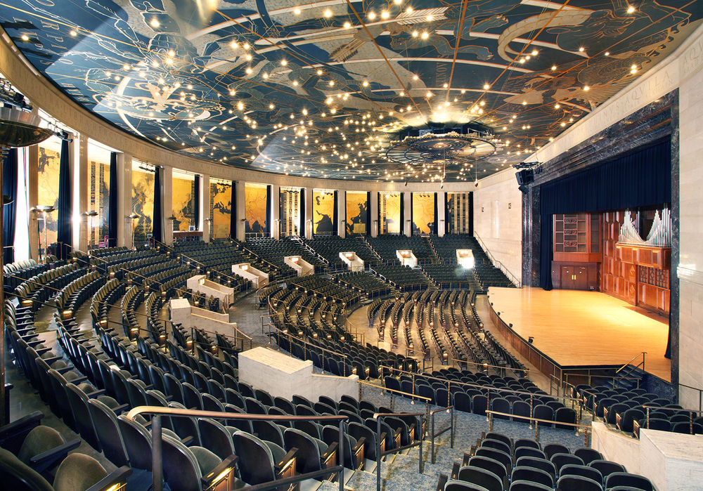 historic forum auditorium renovations murphy dittenhafer. Black Bedroom Furniture Sets. Home Design Ideas