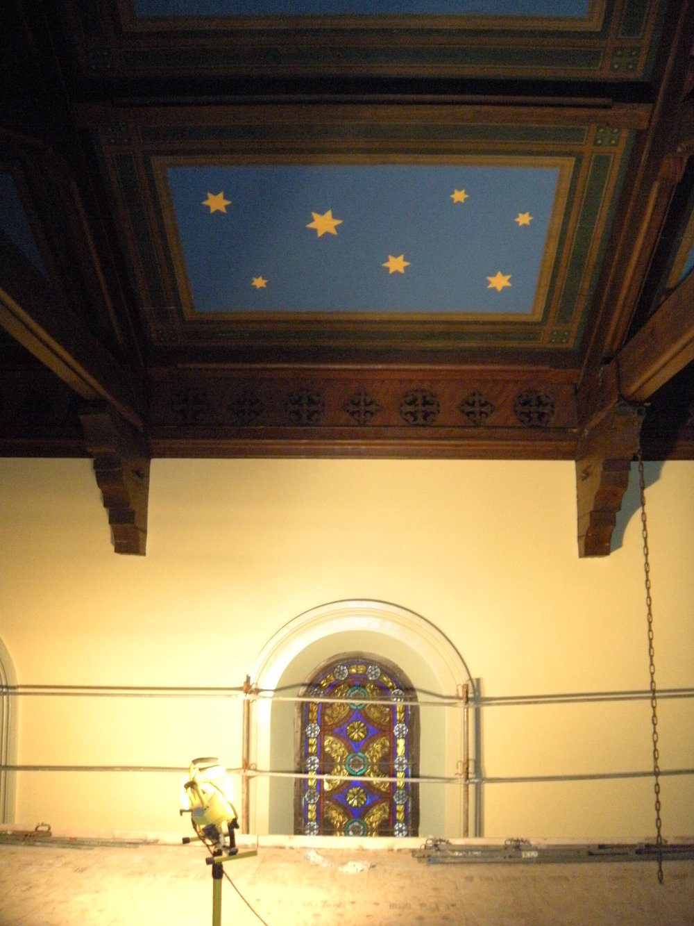 St. Paul's Episcopal Church, during renovation
