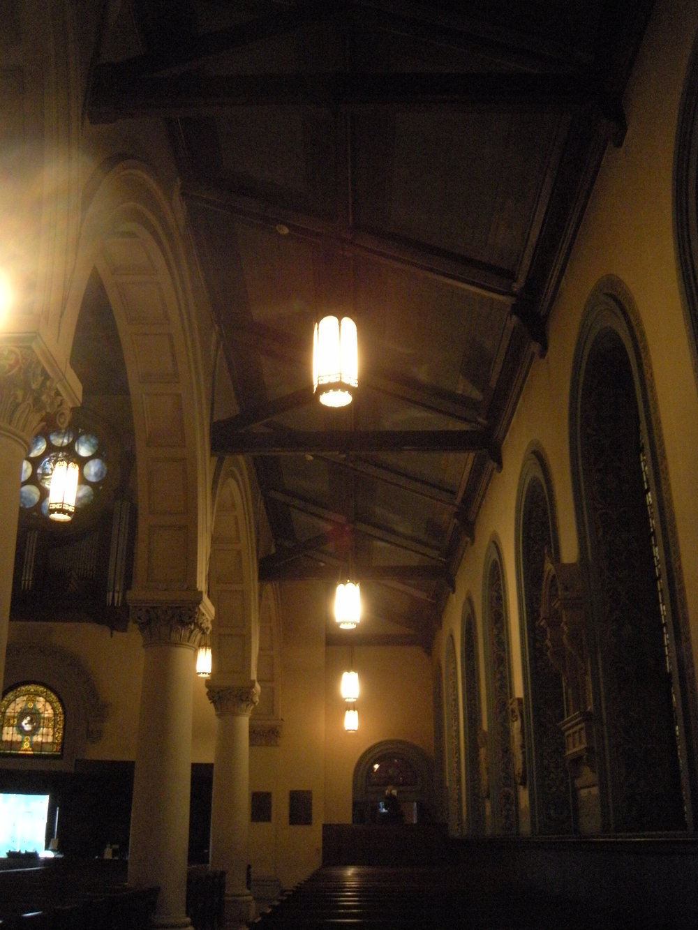 St. Paul's Episcopal Church, before renovation