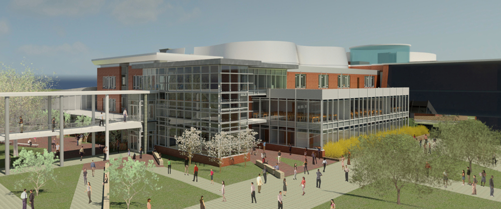 Schwab is working on a $26 million overhaul of Prince George's Community College's Lanham Hall, with hopes of achieving LEED Gold certification for the transformative project.