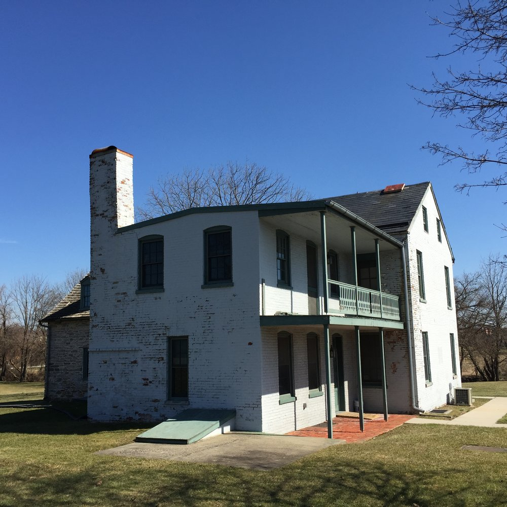 Strickler farmhouse, exterior