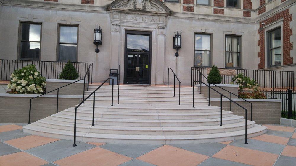 York YMCA, Newberry Street entrance