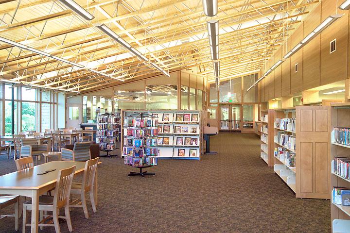 Boonsboro Library Interior