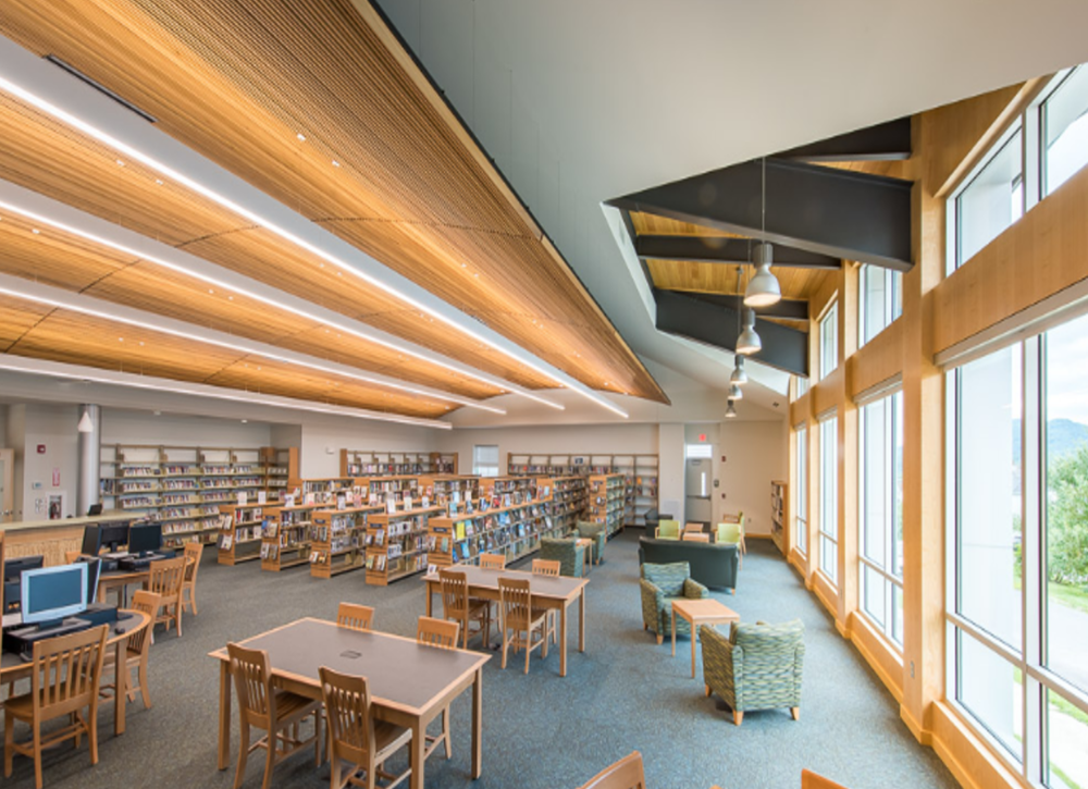 South Cumberland Library Interior