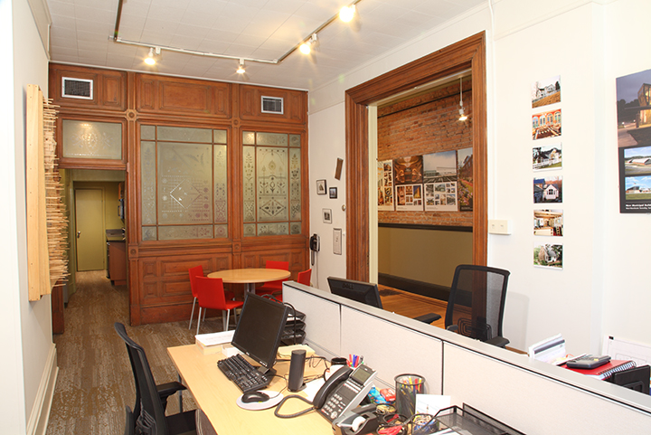 Murphy & Dittenhafer Architects Baltimore Office – First Floor Studio