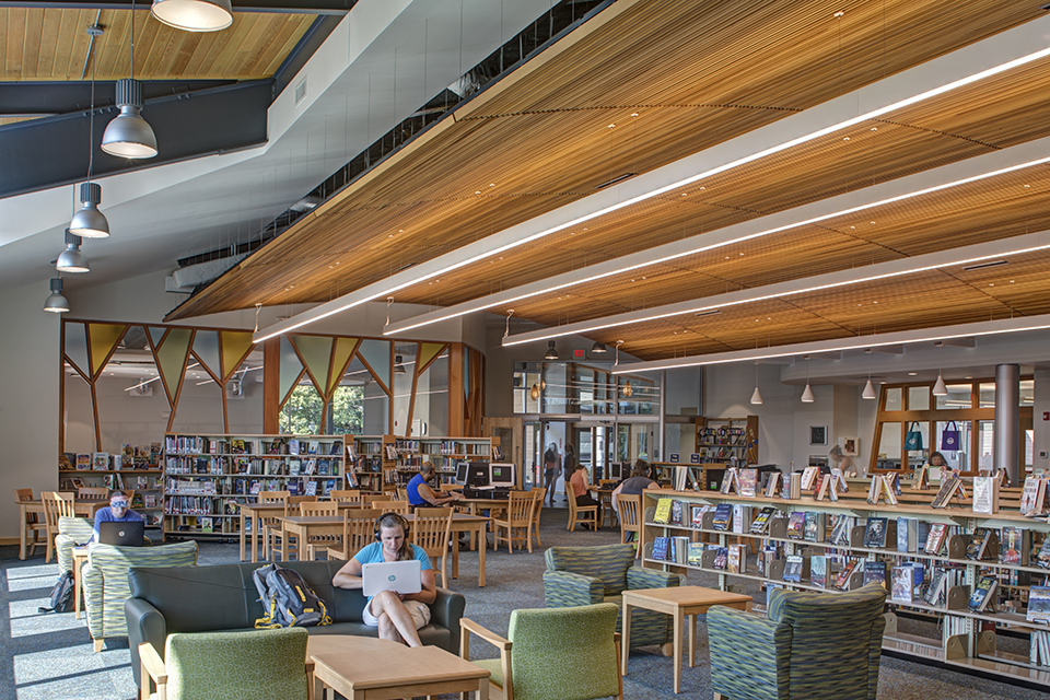 Murphy & Dittenhafer Architects recently completed renovations at the South Cumberland Library in Allegany County, Maryland.