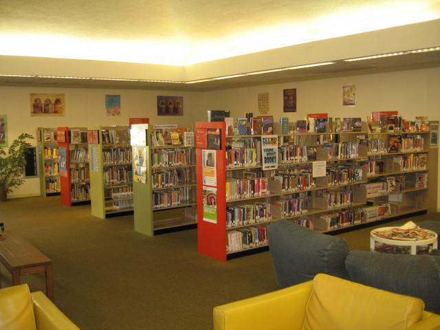 South Cumberland Library, before renovations