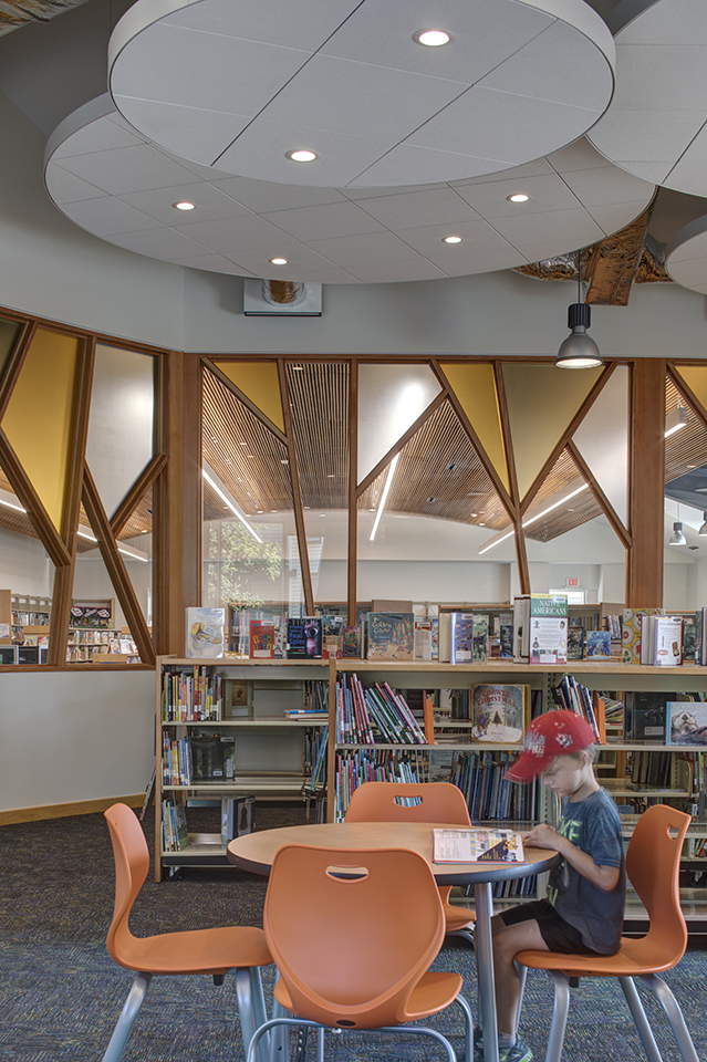 South Cumberland Library, after renovations