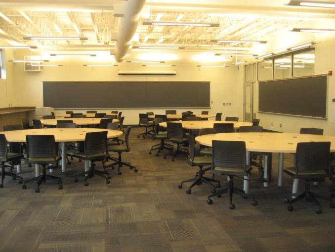 Swenson Engineering Center classroom