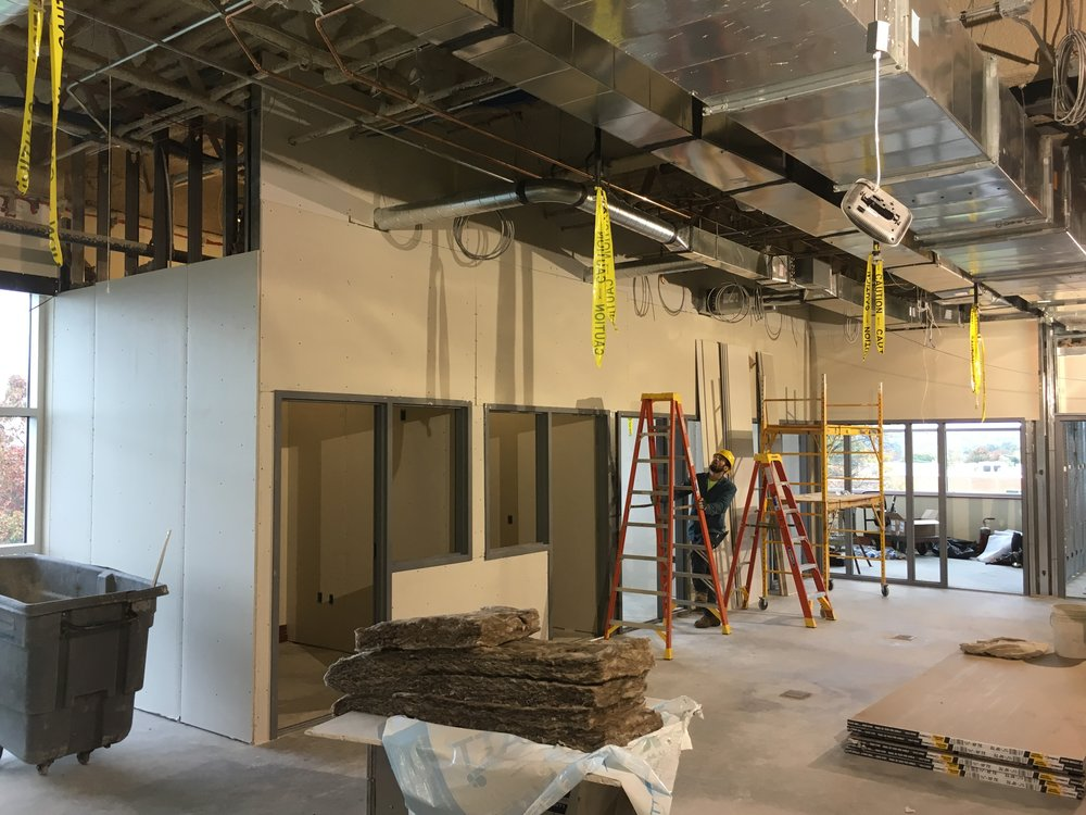 Nittany Success Center, construction