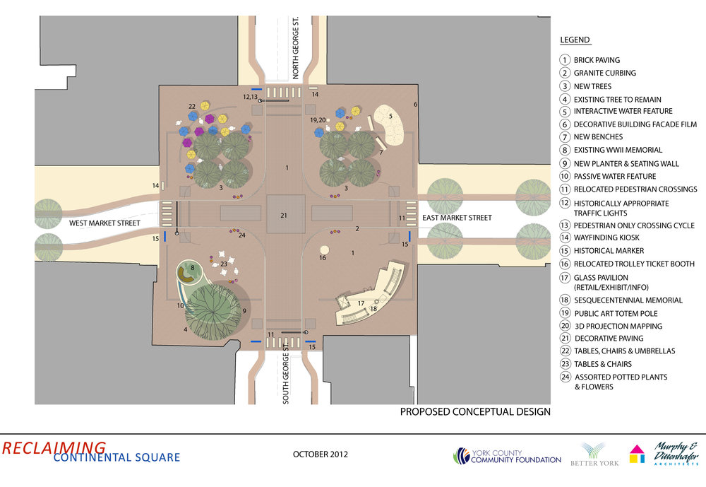 Continental Square Plan
