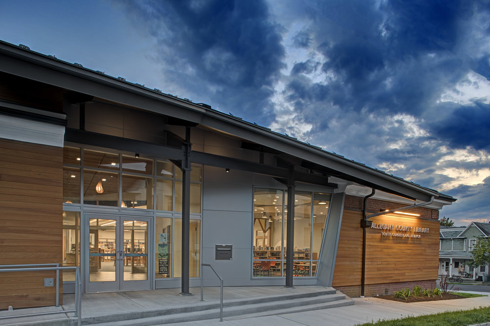 Superb South Cumberland Branch Library