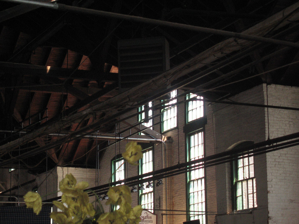 York Central Market House Interior - Before