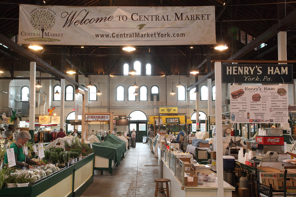 York Central Market House Interior - After