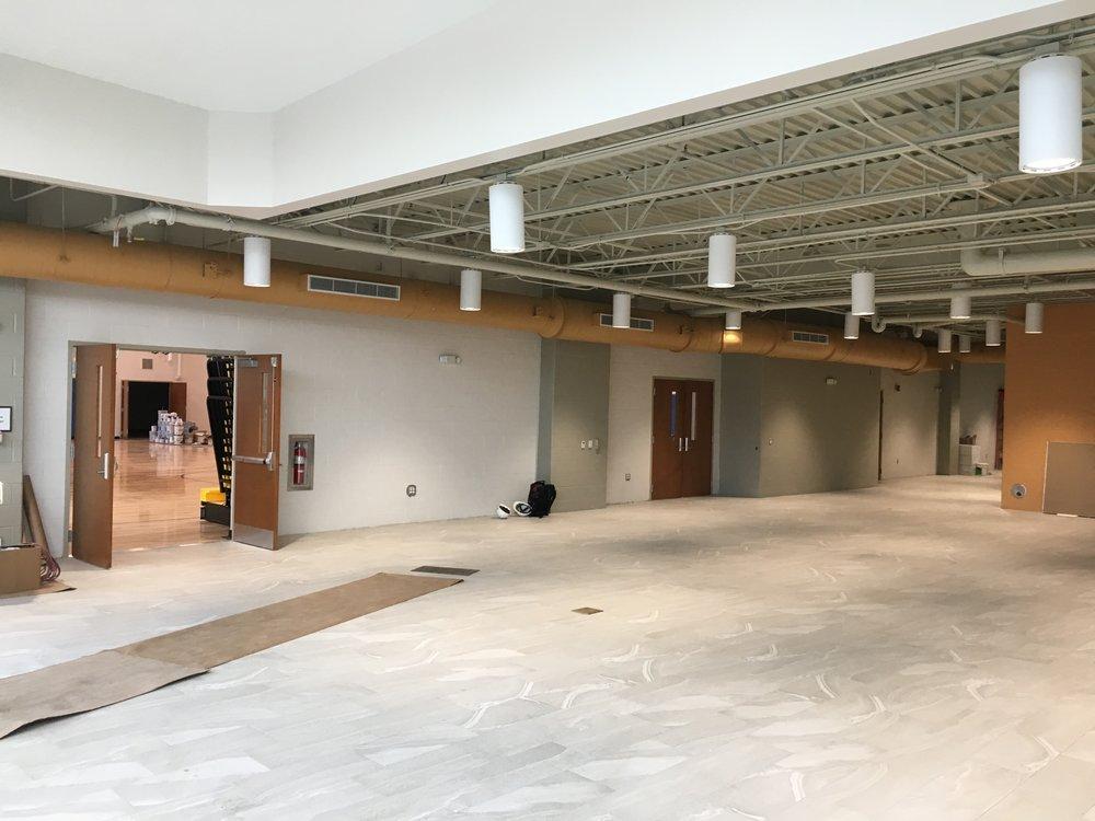 St. John the Evangelist Roman Catholic Church – Parish Center progress