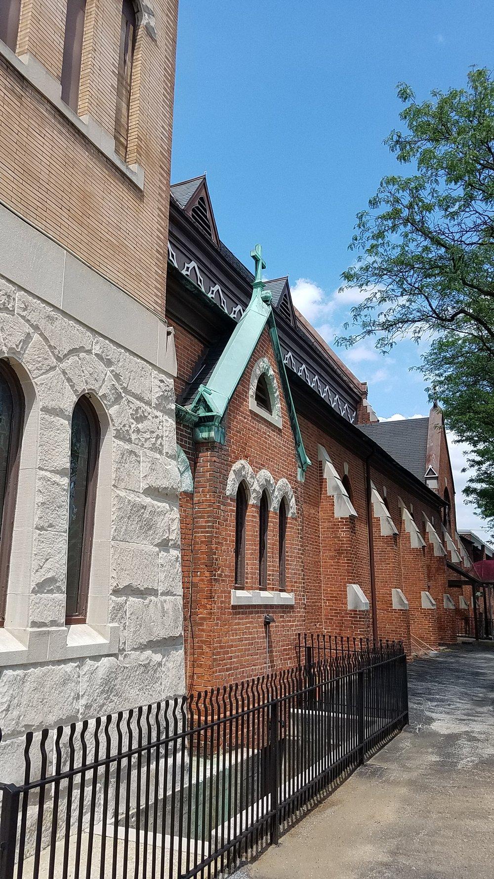 St. Patrick Catholic Church on South Beaver Street in York, Pennsylvania