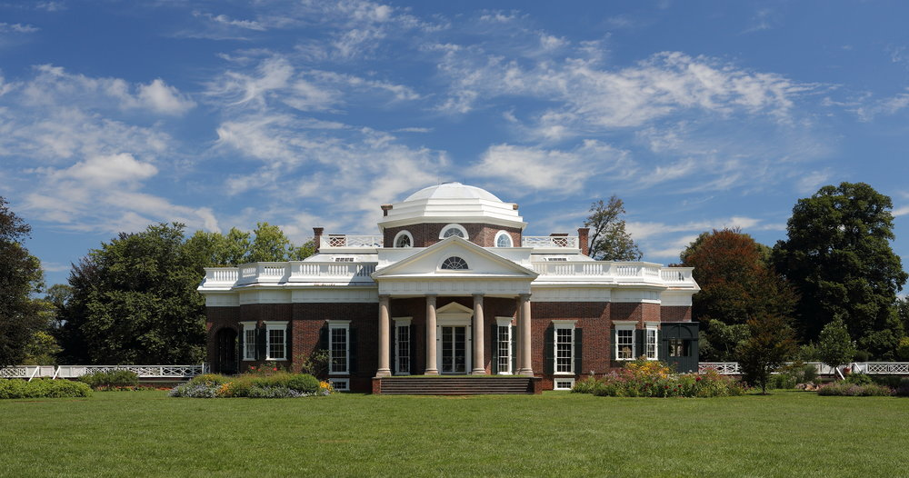 An early family visit to Thomas Jefferson's Monticello sparked Frank Dittenhafer's interest in Architecture.
