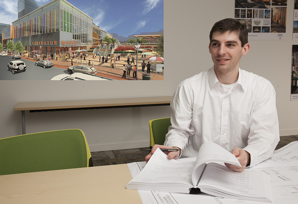 Kyle Giumento, a 2016 graduate of Virginia Tech, says M&D has given him the opportunity to work on different kinds and scales of projects, from smaller renovations to brand new buildings.