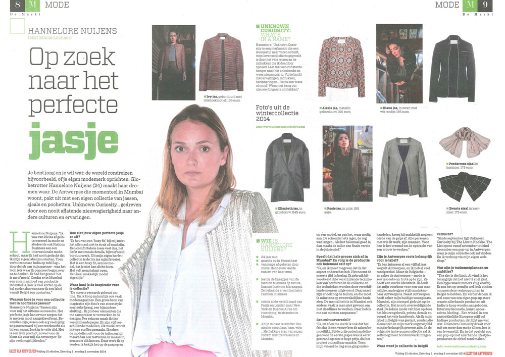 De Markt - 31st October 2014