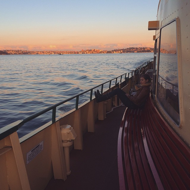 Ferry Love #ferry #harbour #love #sunset #sydney