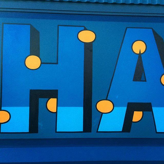 HA! #sign #typography