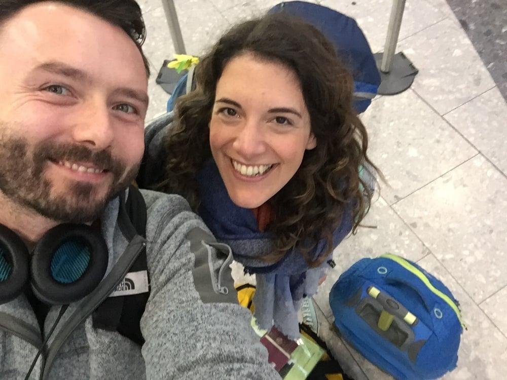Heathrow Terminal 5 selfie for a good start :)