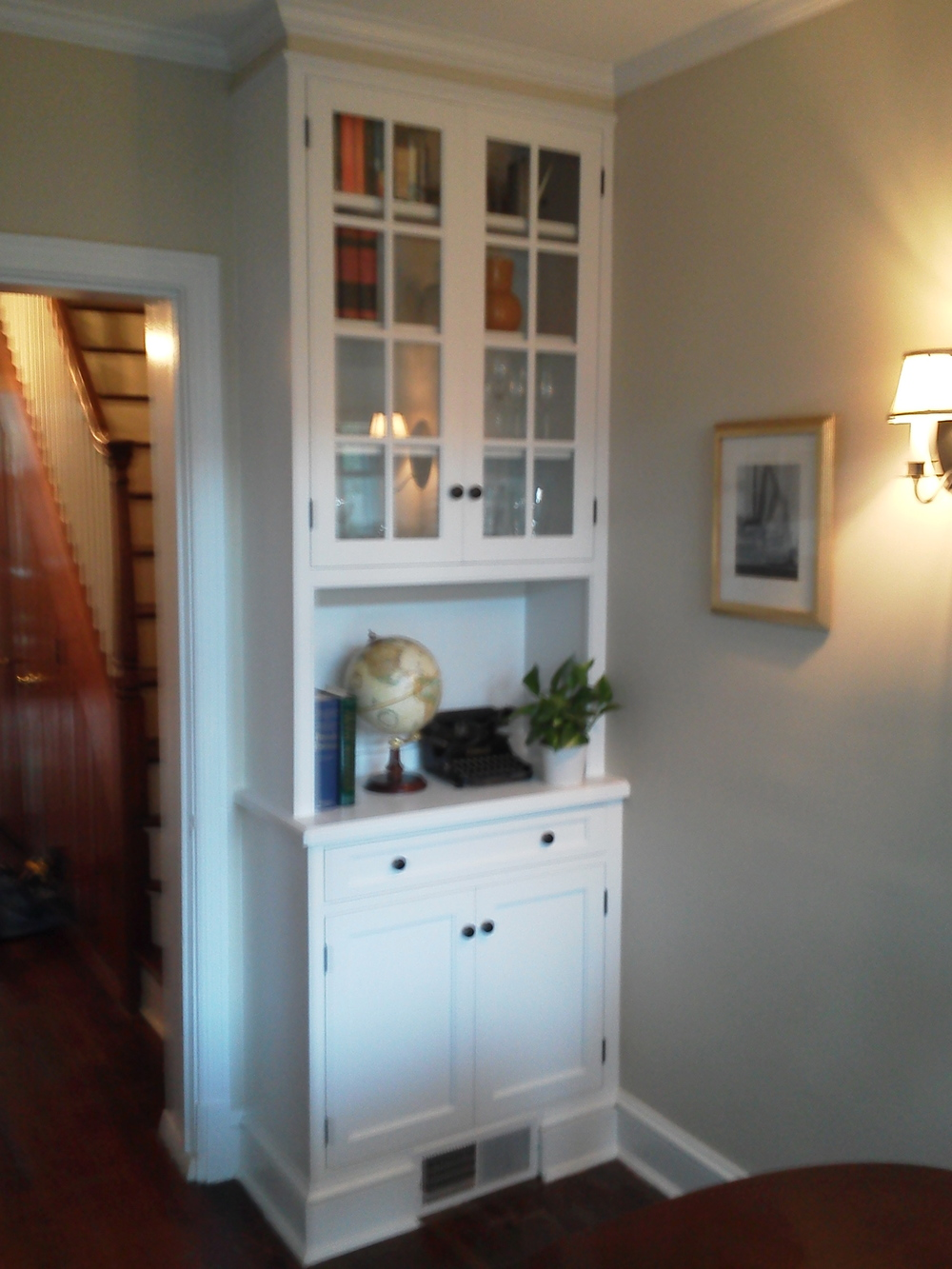 Georgetown Built In China Cabinet.