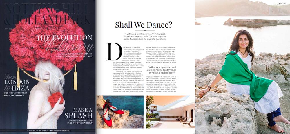 Santhosh article Notting Hill magazine