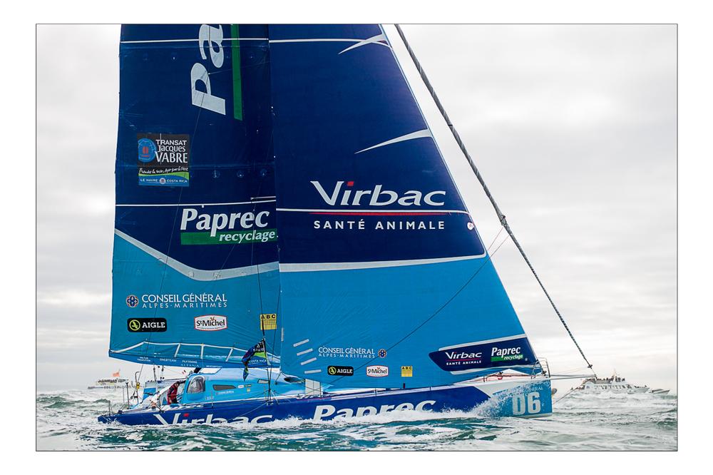 Virbac Paprec, Transat Jacques Vabre, Novembre 2011