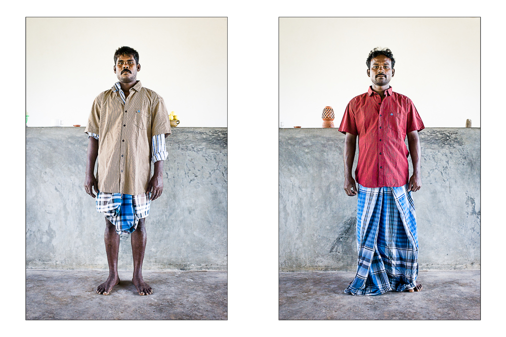 Mani& Jenaki, Kottakuppam, Inde 2014.