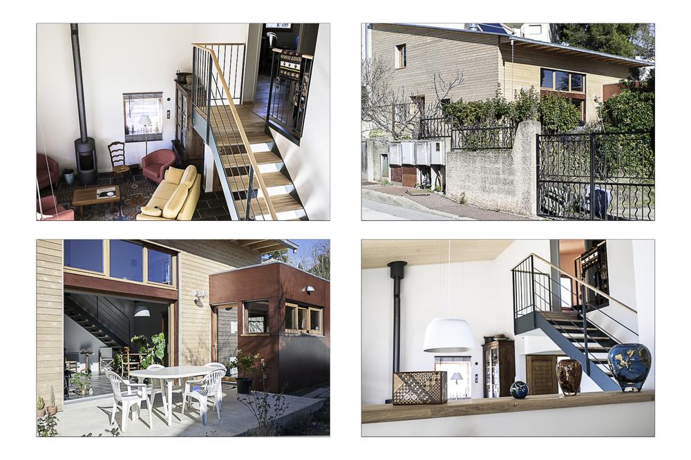 La maison de Yves & Odile, 2009.  CoO Architectes.