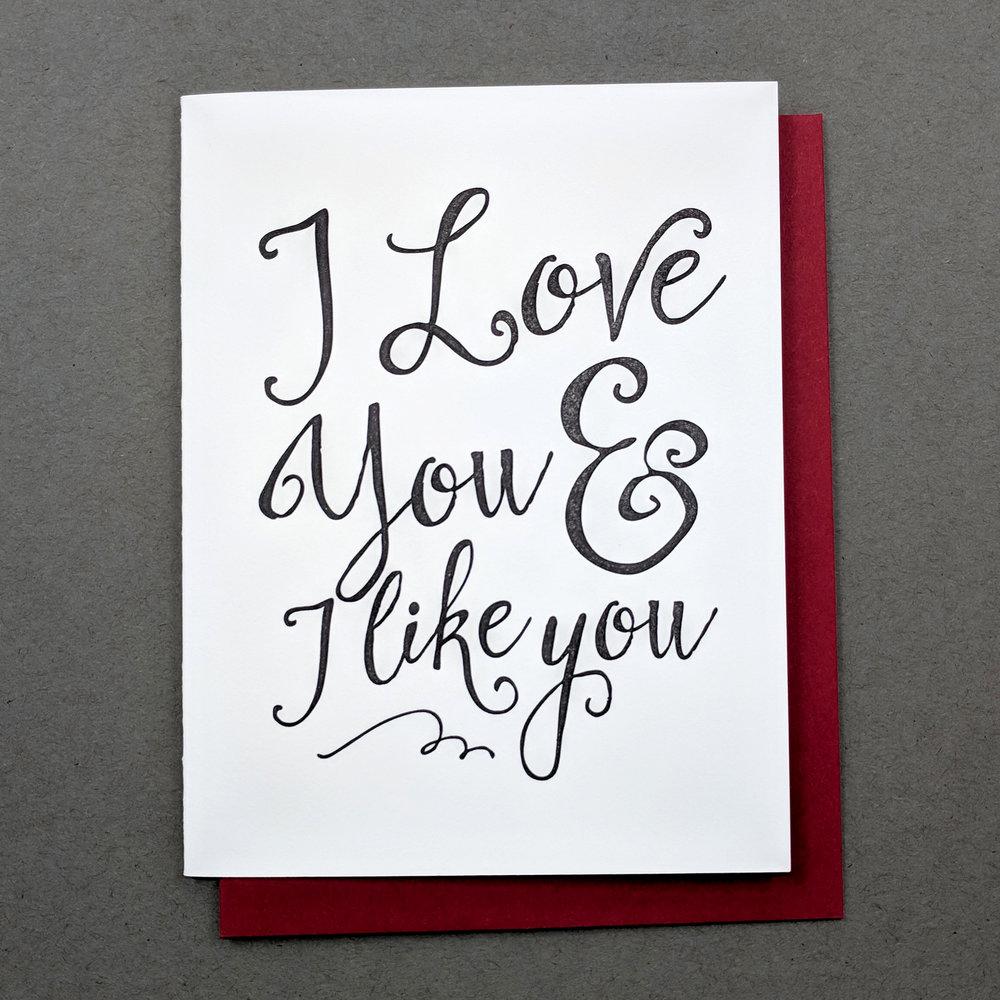 love + like
