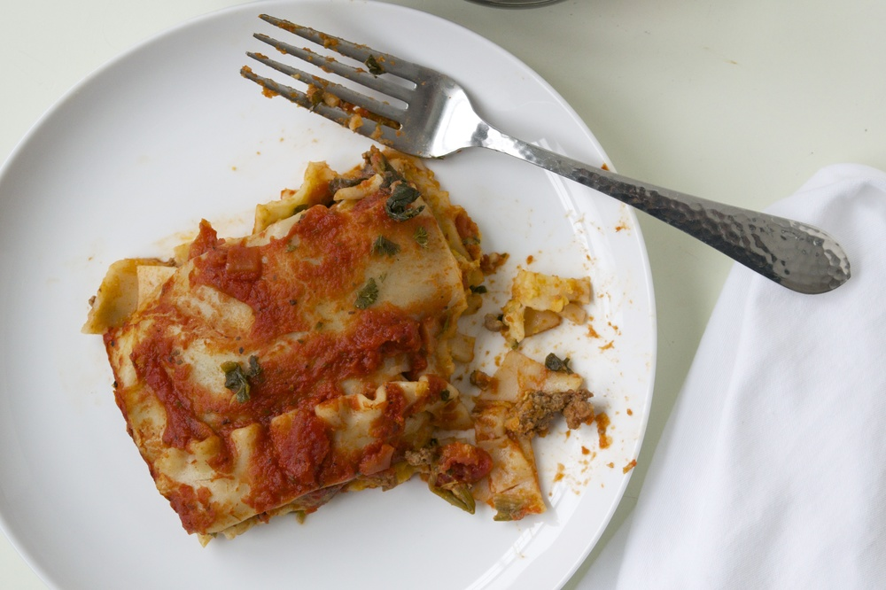 allergy-free lasagna