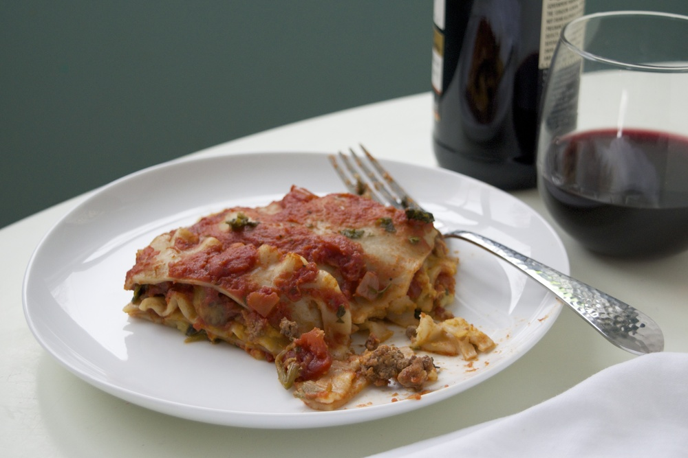 8SAFE allergy-free lasagna