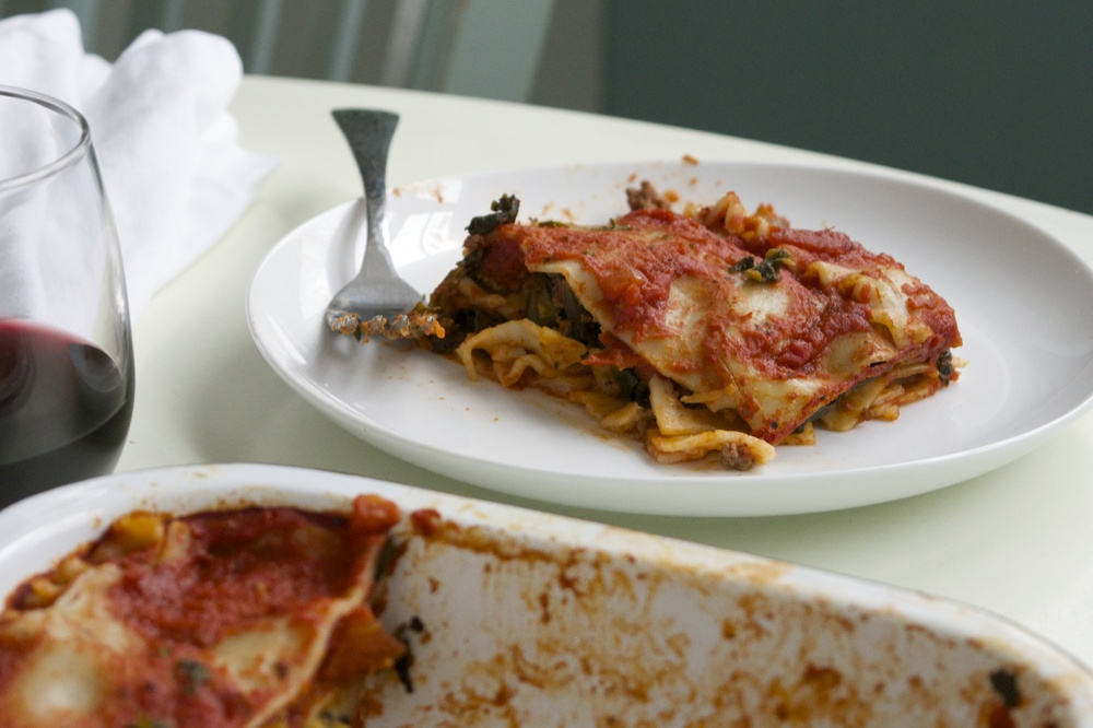 allergy-free vegan lasagna