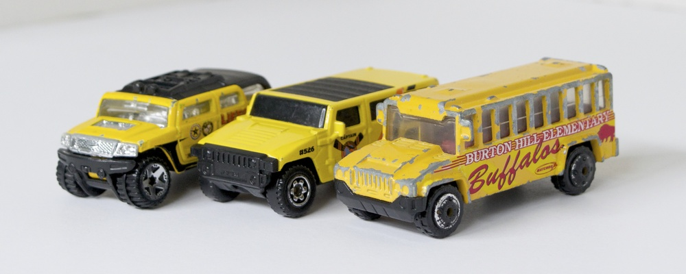 yellow cars truck