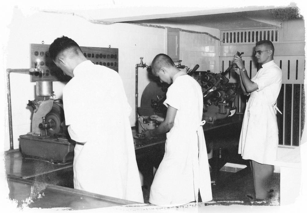 Laboratório Ribeirão Preto 1950