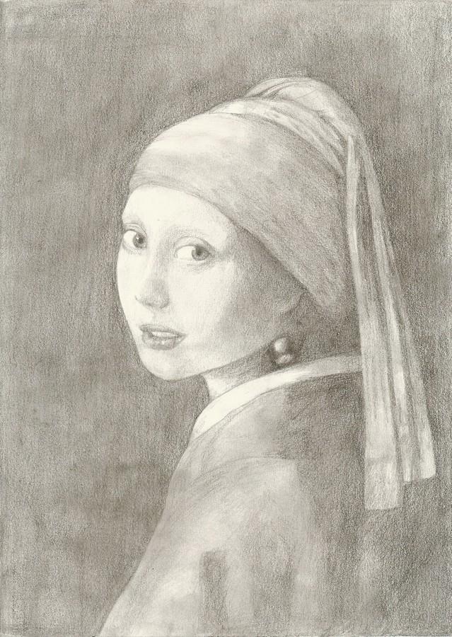La fille à la perle