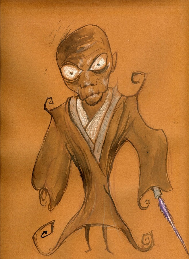 Star Wars Burton Style : Windu