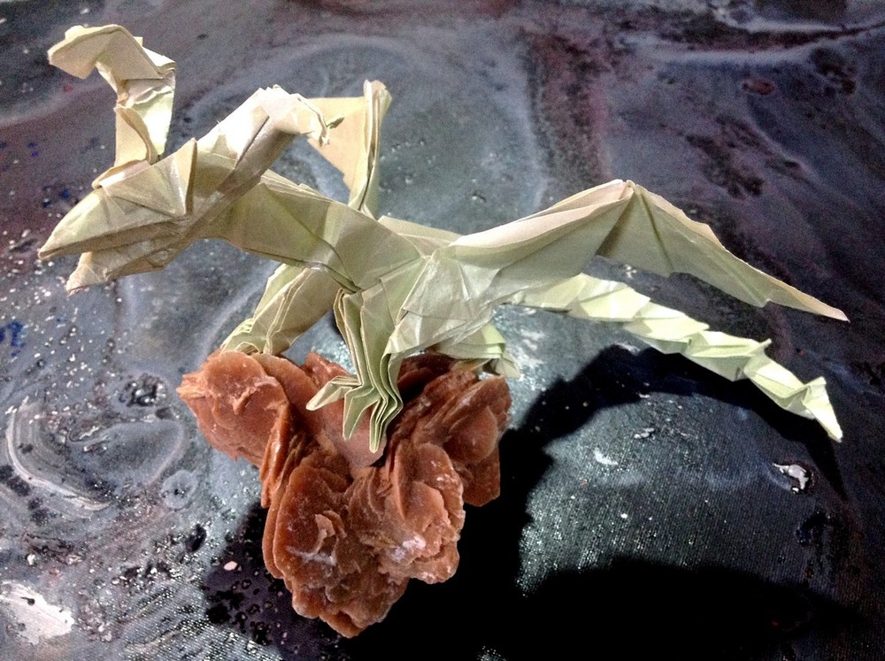 Origami du Darkness Dragon de Tadashi Mori